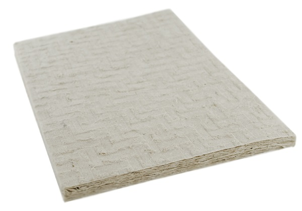 Picture of Natural Bark Ridged A4 Handmade Paper Ivory