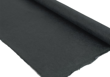 Picture of Natural Bark Plain Poster Handmade Paper Black
