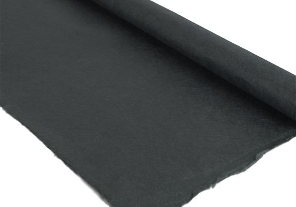 Picture of Natural Bark Plain Poster Paper Black