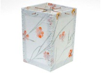 Picture of Natural Glow Handmade Medium Lantern Marigold