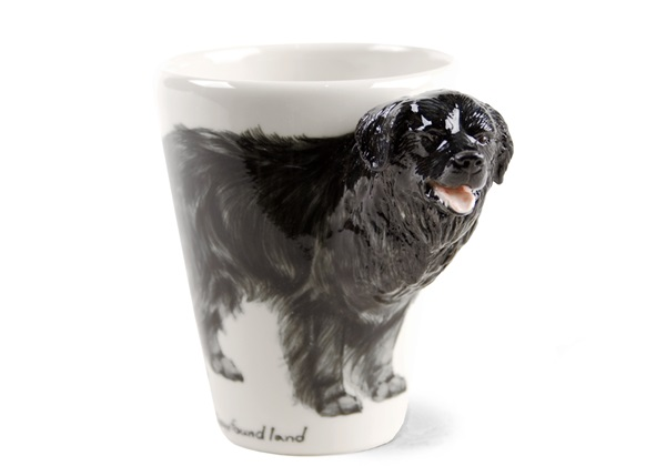 Picture of Newfoundland Handmade 8oz Coffee Mug Black