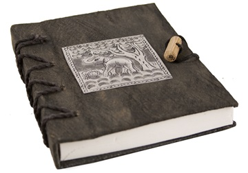 Picture of Nickel Handmade A6 Journal Elephant Plain