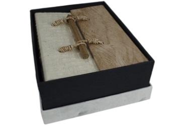 Picture of Oriental Handmade Small Photo Album Textured