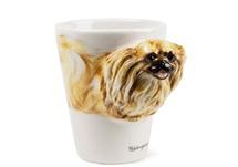 Picture of Pekingese Handmade 8oz Coffee Mug Fawn