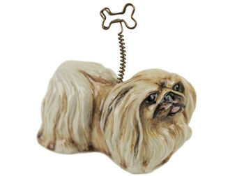 Picture of Pekingese Handmade Mini Picture Holder Fawn