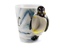 Picture of Penguin Handmade 8oz Coffee Mug Black