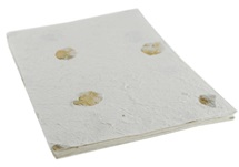 Picture of Petal Bougainvillea A4 Handmade Paper Cream