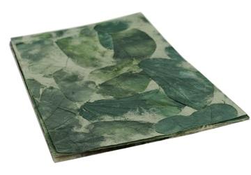 Picture of Petal Handmade A4 Paper Teak Green