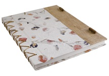 Picture of Petal Handmade Extra Large Journal Bougainvillea Plain