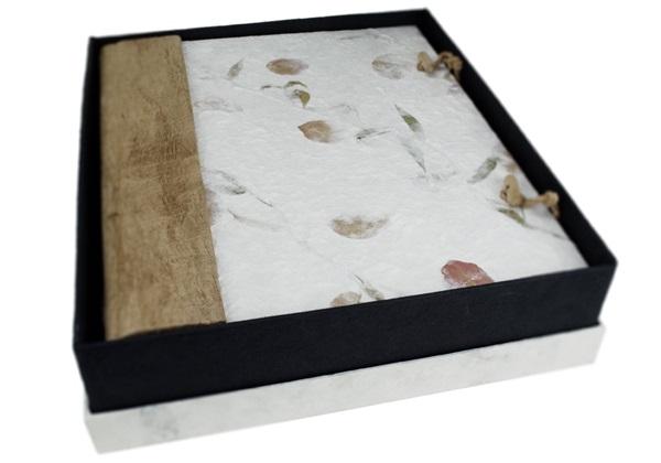 Picture of Petal Handmade Large Photo Album Bougainvillea