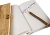 Picture of Petal Handmade Bark Wrap A6 Journal Bougainvillea Plain
