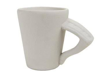 Picture of Piano Handmade Ceramic 8oz Coffee Mug Unpainted