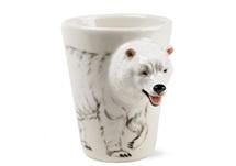 Picture of Polar Bear Handmade 8oz Coffee Mug White