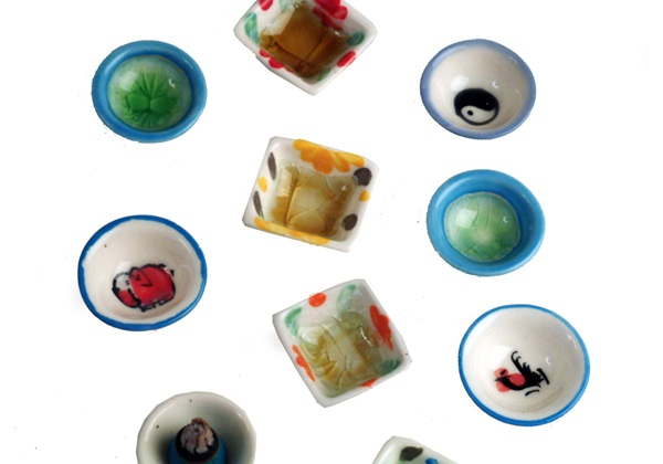 Picture of Profumo Ceramic Tiny Dishes Mixed
