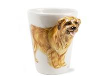 Picture of Pyrenean Sheepdog Handmade 8oz Coffee Mug Tan