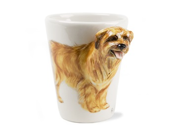 Picture of Pyrenean Sheepdog Handmade 8oz Coffee Mug Tan