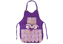 Picture of Ragworks Sari Big Chef Owl Adult Apron Lilac