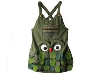Picture of Ragworks Big Chef Owl Adult Apron Olive