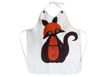 Picture of Ragworks Sari Big Chef Fox Adult Apron Orange
