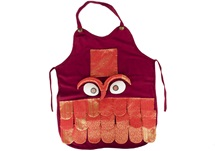 Picture of Ragworks Sari Big Chef Owl Adult Apron Ruby