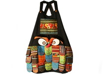 Picture of Ragworks Big Chef Owl Adult Apron Rustic Rainbow