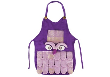 Picture of Ragworks Sari Little Chef Owl Junior Apron Lilac