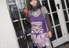 Picture of Ragworks Sari Little Chef Owl Junior Apron Lilac