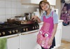 Picture of Ragworks Sari Little Chef Owl Junior Apron Lilly