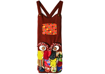 Picture of Ragworks Little Chef Owl Junior Apron Ruby