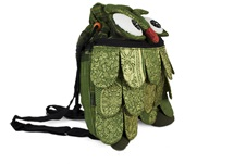 Picture of Ragworks Sari Owl Adventure Medium Backpack Olive