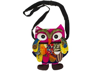 Picture of Ragworks Owl Adventure Medium Kids Bag Rainbow