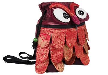 Picture of Ragworks Sari Owl Adventure Medium Backpack Ruby