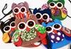 Picture of Ragworks Cotton Owl Adventure Mini Purse Rainbow