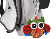 Picture of Ragworks Owl Adventure Mini Key Ring Rainbow