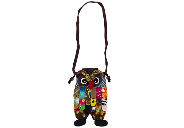 Picture of Ragworks Owl Adventure Mini Kids Bag Rainbow
