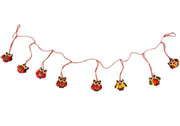 Picture of Ragworks One size Red Handmade Owl Adventure Garlands