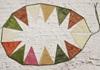 Picture of Ragworks Handmade Sari Silk One size Bunting Rainbow