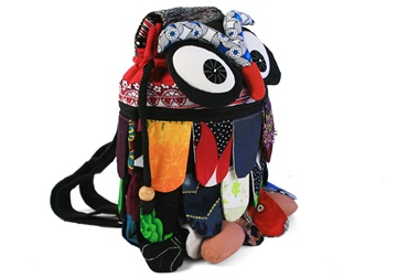 Picture of Ragworks Owl Adventure Small Backpack Rainbow