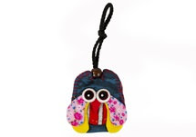 Picture of Ragworks Owl Adventure Small Key Ring Rainbow