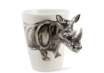 Picture of Rhino Handmade 8oz Coffee Mug Grey