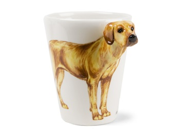 Picture of Rhodesian Ridgeback Handmade 8oz Coffee Mug Wheaten
