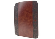 Picture of Romano Handmade Recycled Leather Regular ipad Case Chestnut Classico