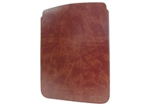 Picture of Romano Handmade Recycled Leather Mini ipad Case Chestnut