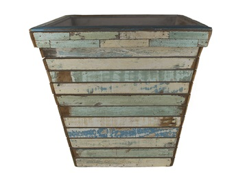Picture of Rustic Beach Handmade Reclaimed Extra Large Planter Antique Pastel