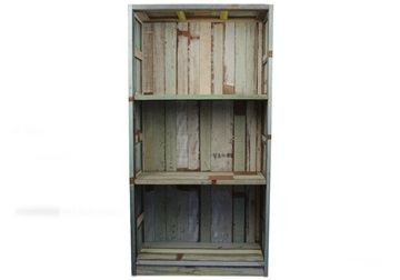 Picture of Rustic Beach Handmade Reclaimed Medium Book Shelf Antique Pastel