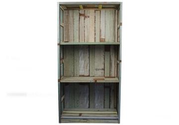 Picture of Rustic Beach Handmade Reclaimed Medium Book Shelf Antique Pastel