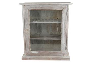 Picture of Rustic Beach Handmade Reclaimed Medium Cabinet Antique White