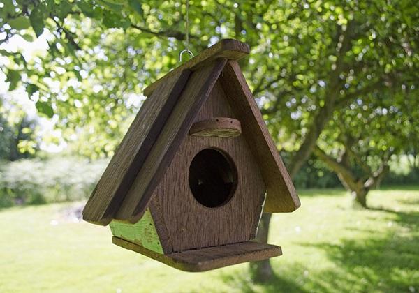 rustic beach handmade reclaimed regular size bird house