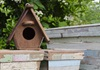 Picture of Rustic Beach Handmade Reclaimed Regular Size Bird House Antique Pastel