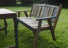Picture of Rustic Beach Handmade Reclaimed Six Seater Dining Set Antique Pastel